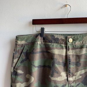 Camouflage Skirt 3X Forever 21